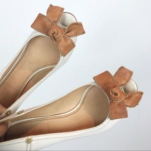 Miu Miu Shoes - MIU MIU | CANVAS BOWTIE HEELS